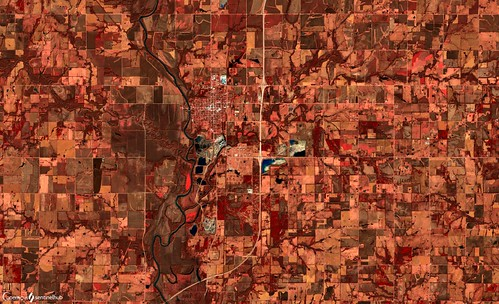 Agriculture in Kansas, USA | by SentinelHub