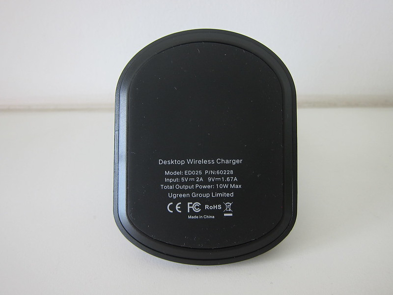 Ugreen 10W Wireless Charging Stand - Bottom