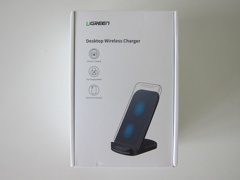 Ugreen 10W Wireless Charging Stand - Box Front