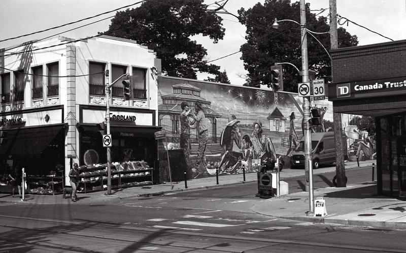 Wall Mural on Foodland