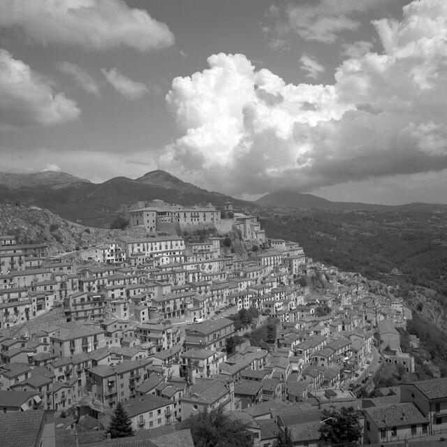Summer clouds - Muro Lucano (Basilicata) - August 2020