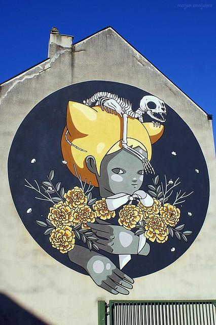 Street Art Ghent, Belgium (Itzel Najera Luna or
