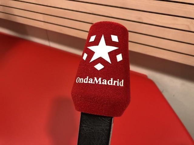 Micrófono de Onda Madrid