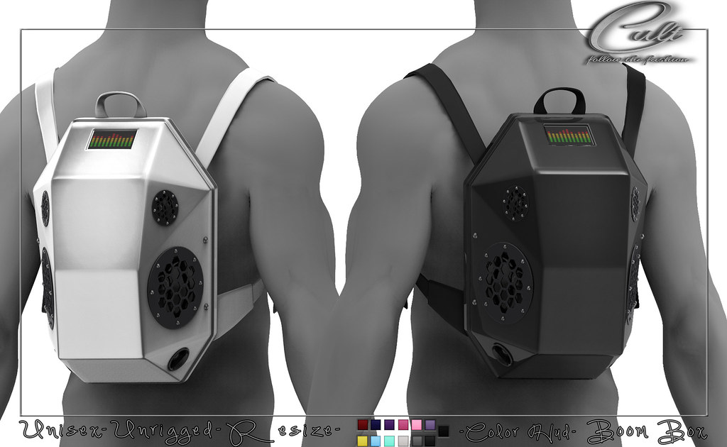 : CULT : Boom Box with HUD (Unisex)
