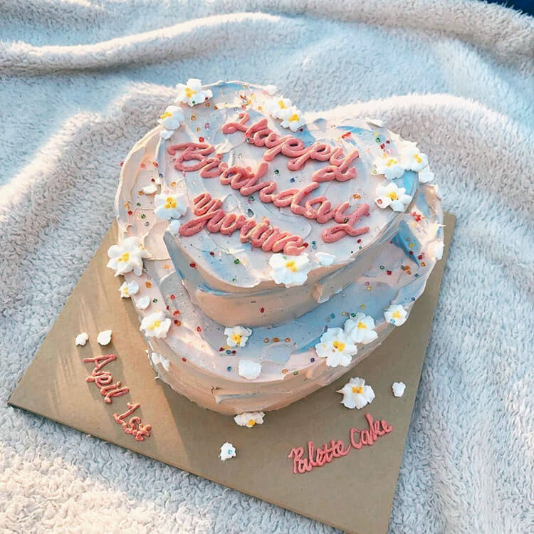 personalized cake