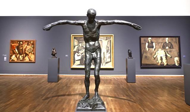 Statue / Anton Hanak / Leopold Museum / Wenen