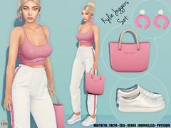 Hilly Haalan - Kylie Joggers Set
