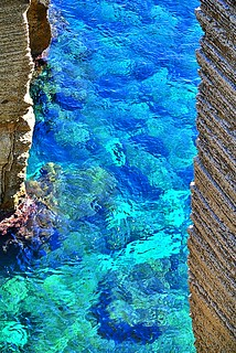 The Adriatic Sea, Salento, Italy.