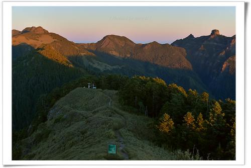 桃山 雪霸 聖陵線 大霸尖山 mountain hiking mountains sunrise