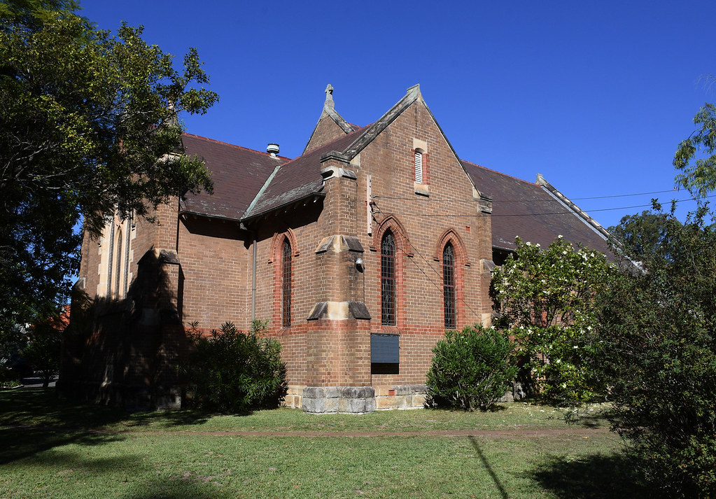 St John's Anglican Church, Beecroft, Sydney, NSW.