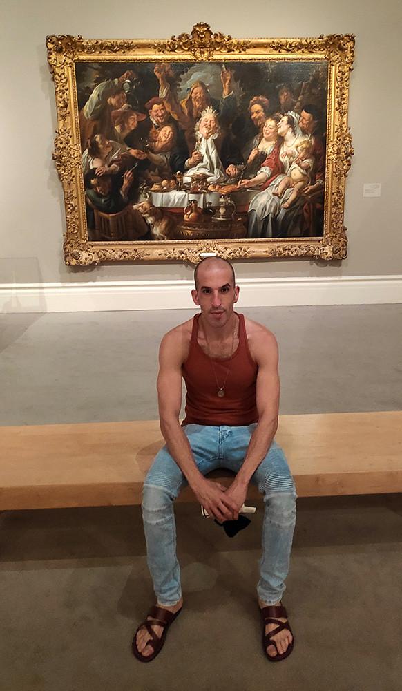 assaf henigsberg אסף הניגסברג ביקור מוזיאון ישראל ירושלים מוזיאונים בירושלים בישראל אמנות בינלאומית תערוכה של ציורים תערוכת אומנות עכשווית מודרנית