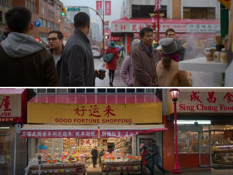 Scenes shot in Chinatown