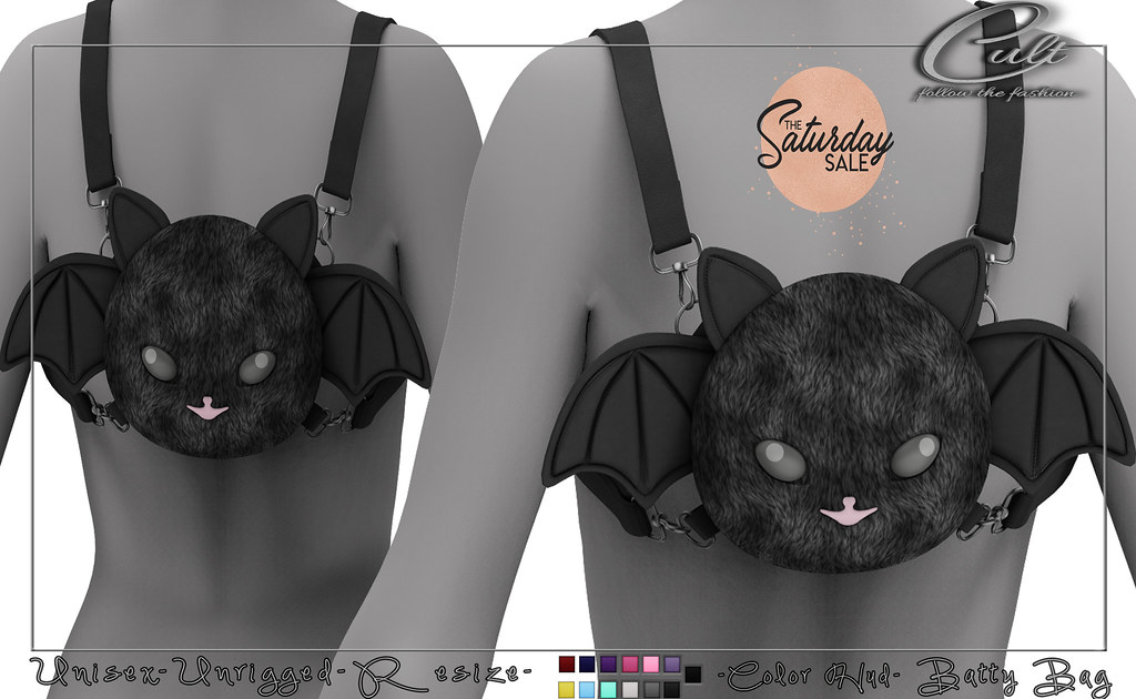 : CULT : Batty Bag with HUD