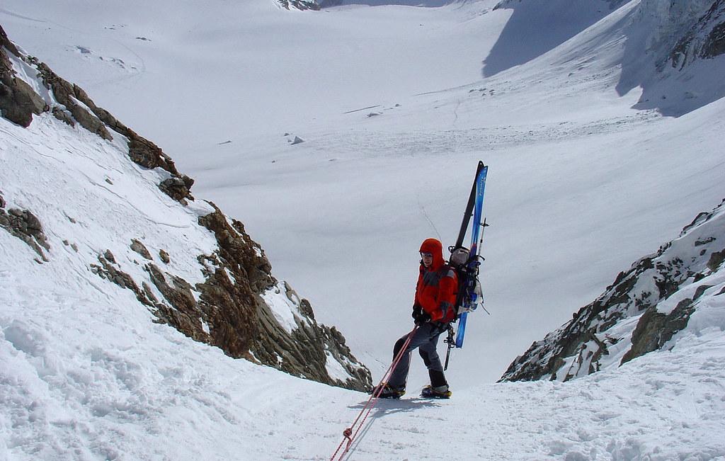 Fenêtre Saleinaz,Day1 H.R. Chamonix-Zermatt Massif Mont Blanc Frankreich foto 12