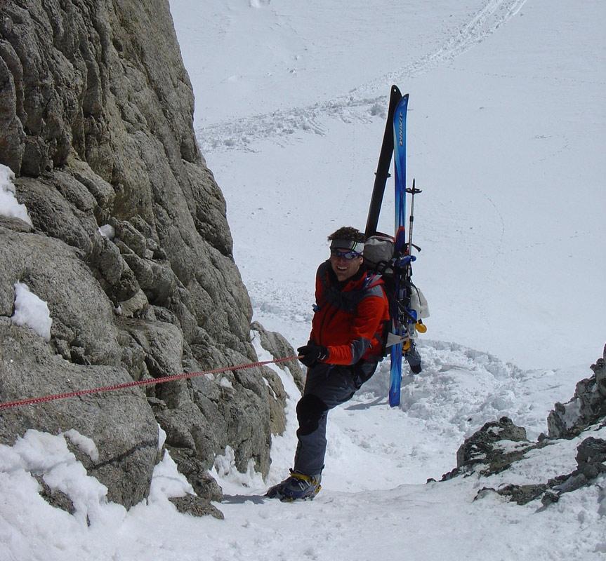 Fenêtre Saleinaz,Day1 H.R. Chamonix-Zermatt Massif Mont Blanc Frankreich foto 15