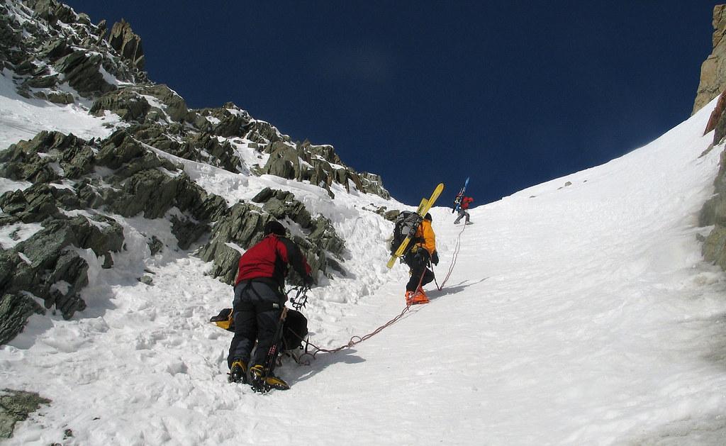 Fenêtre Saleinaz,Day1 H.R. Chamonix-Zermatt Massif Mont Blanc Frankreich foto 21