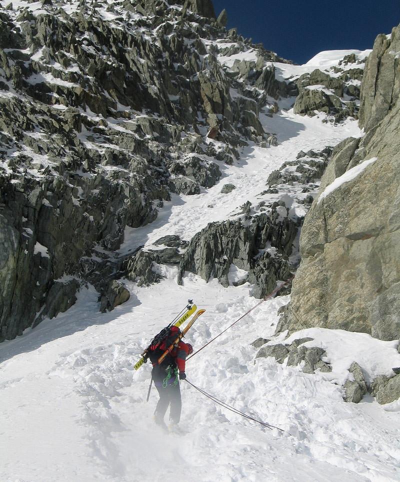 Fenêtre Saleinaz,Day1 H.R. Chamonix-Zermatt Massif Mont Blanc Frankreich foto 23