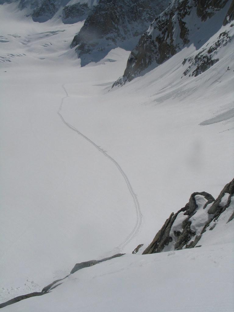 Fenêtre Saleinaz,Day1 H.R. Chamonix-Zermatt Massif Mont Blanc Frankreich foto 29