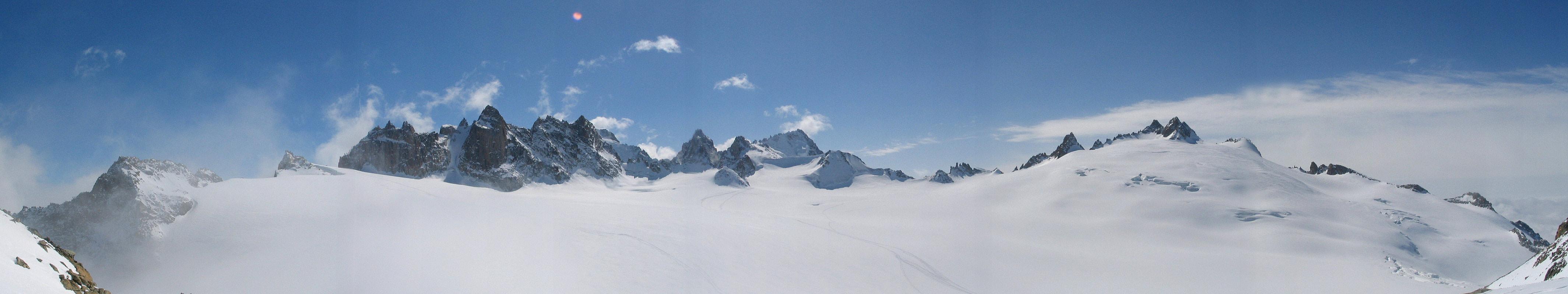 Fenêtre Saleinaz,Day1 H.R. Chamonix-Zermatt Massif Mont Blanc Frankreich panorama 38