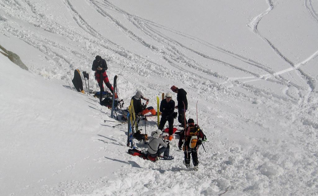 Fenêtre Saleinaz,Day1 H.R. Chamonix-Zermatt Massif Mont Blanc Frankreich foto 25
