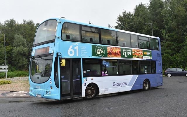 First Glasgow Volvo B9TL 37203