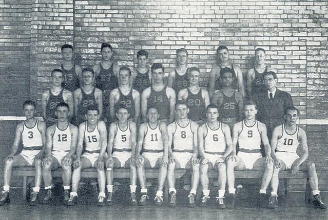 1943-44 Red Devils Scrapbook