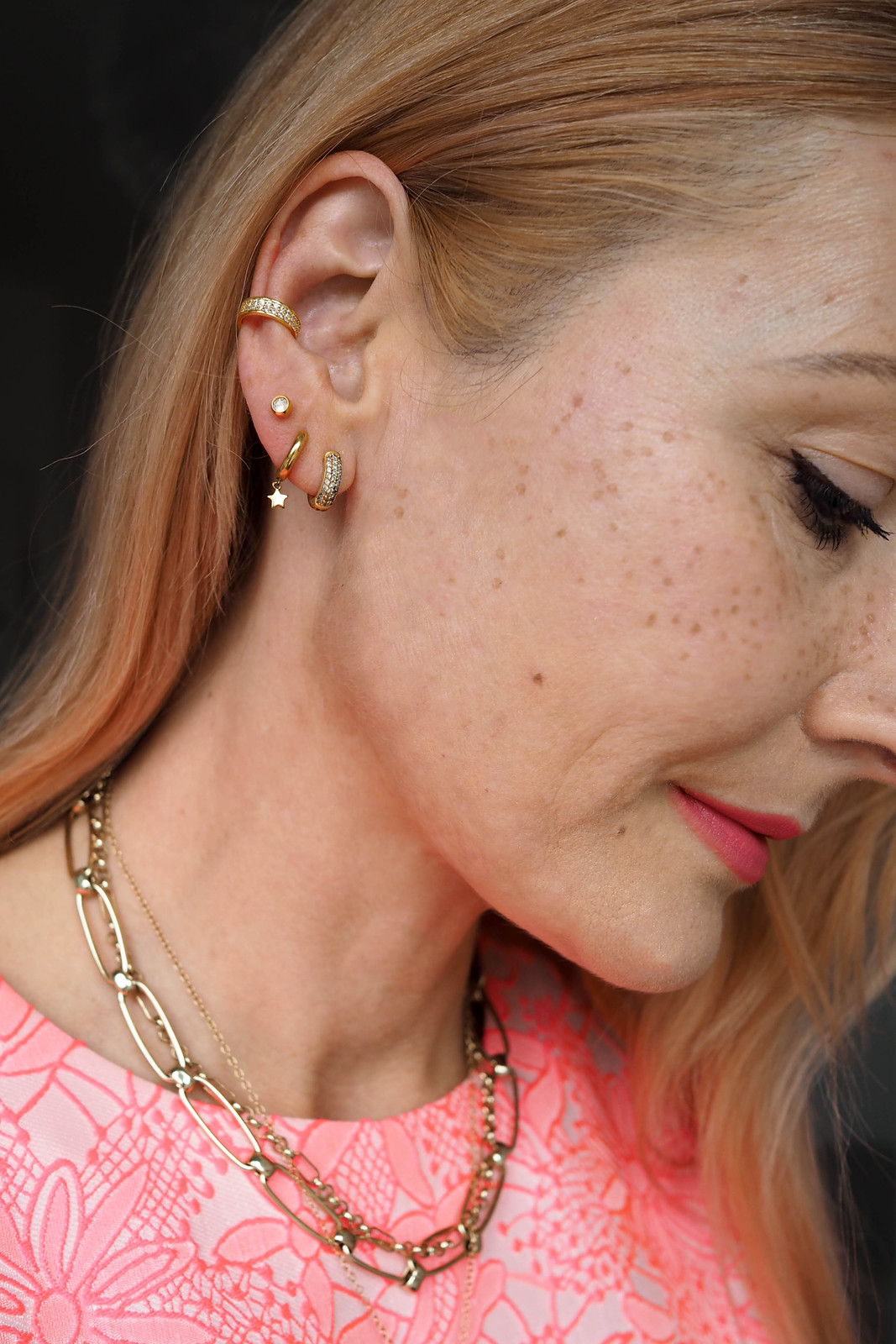 My Current Jewellery Obsession... Earrings and Ear Cuffs | Not Dressed As Lamb: Getting my ears pierced in my 40s