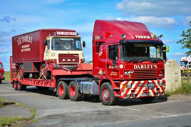 Darley's R454 PDV (Leaving Barnard Castle Truck Show)