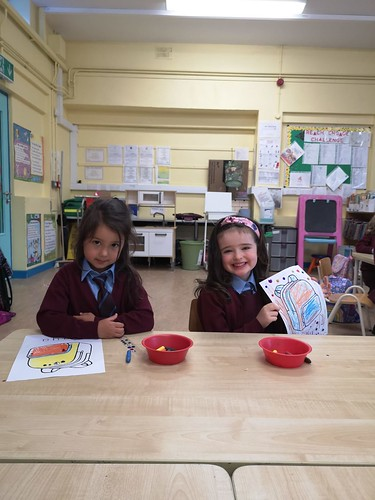 First Week in Junior Infants (Ms. Malone)