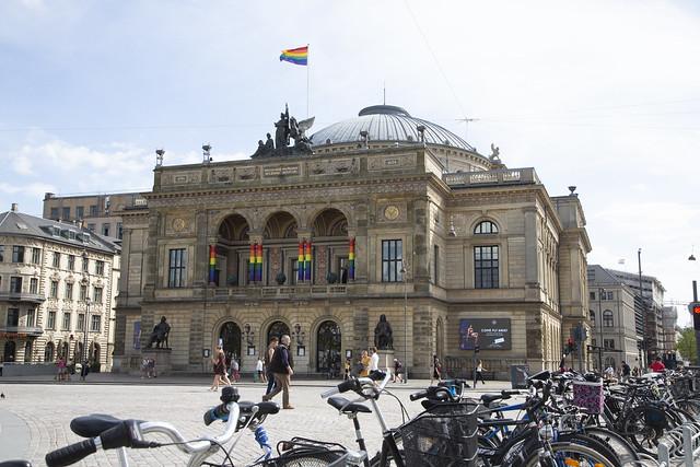 20200822 Kongelige Teater udsmykket under _Copenhagen Pride 2020. 50A4629
