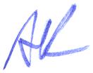 Alexey Kljatov handwritten signature