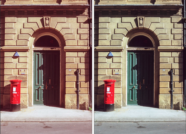 Velvia reduce red shadows curve examples