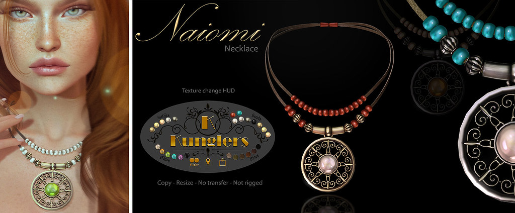 KUNGLERS - Naiomi Necklace