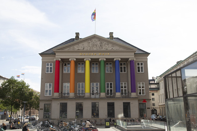 20200822 Danske Bank udsmykket under _Copenhagen Pride 2020. 50A4634