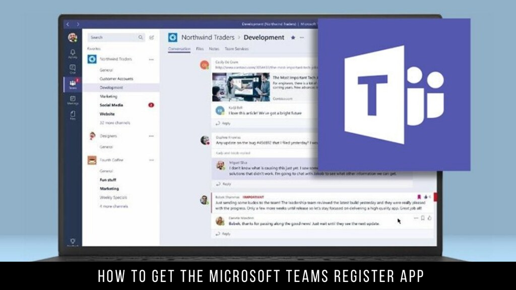 How to Get the Microsoft Teams Register App