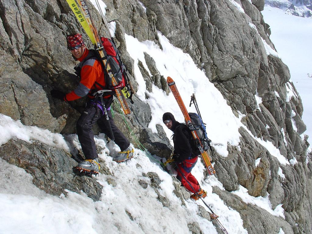 Fenêtre Saleinaz,Day1 H.R. Chamonix-Zermatt Massif Mont Blanc Frankreich foto 16