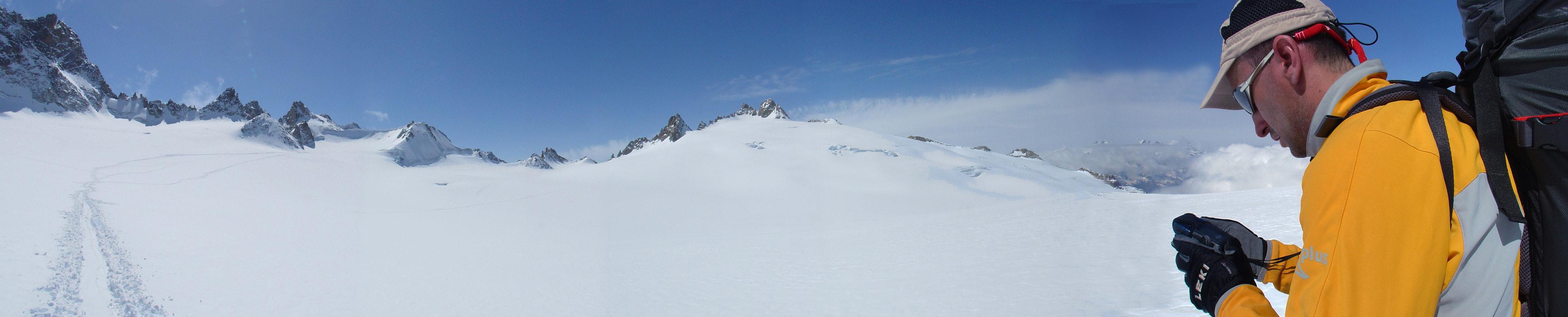 Fenêtre Saleinaz,Day1 H.R. Chamonix-Zermatt Massif Mont Blanc Frankreich panorama 19