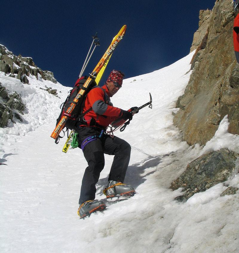 Fenêtre Saleinaz,Day1 H.R. Chamonix-Zermatt Massif Mont Blanc Frankreich foto 22