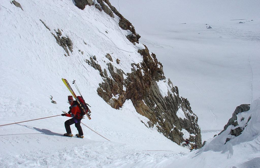 Fenêtre Saleinaz,Day1 H.R. Chamonix-Zermatt Massif Mont Blanc Frankreich foto 13