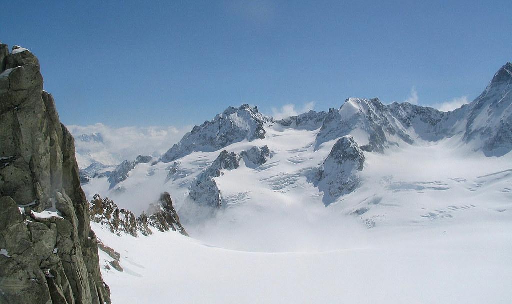 Fenêtre Saleinaz,Day1 H.R. Chamonix-Zermatt Massif Mont Blanc Frankreich foto 28