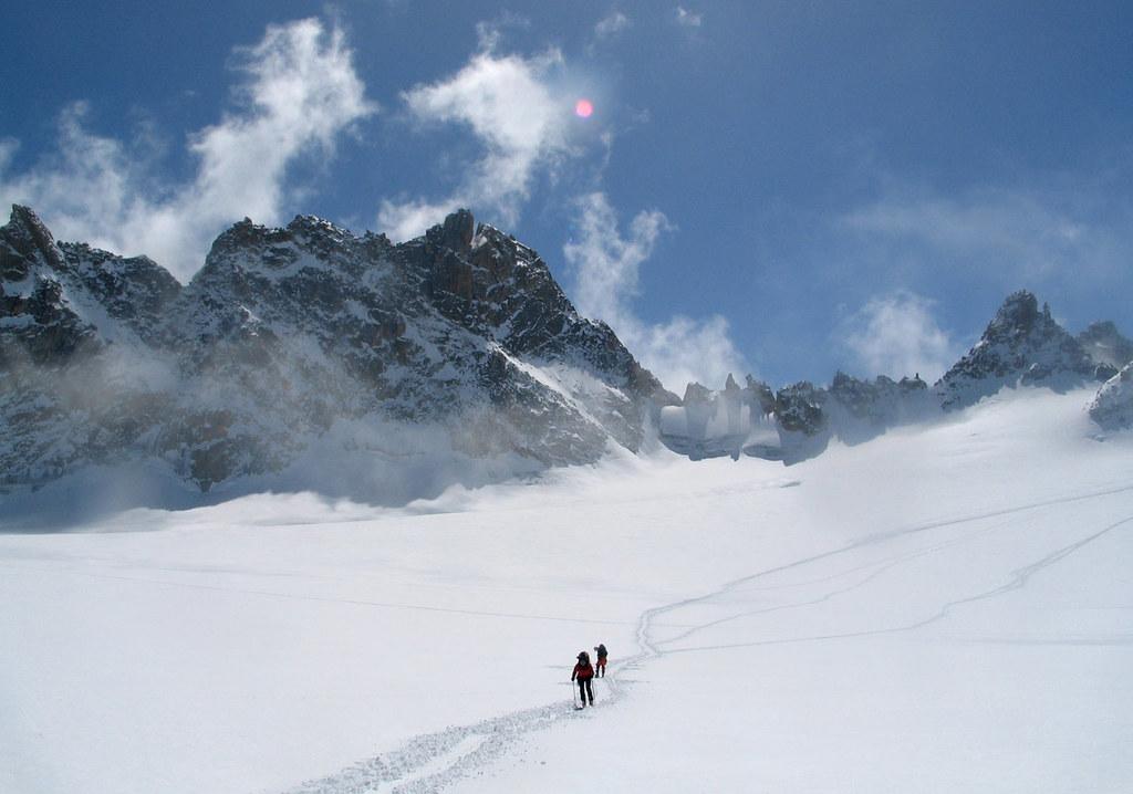 Fenêtre Saleinaz,Day1 H.R. Chamonix-Zermatt Massif Mont Blanc Frankreich foto 35