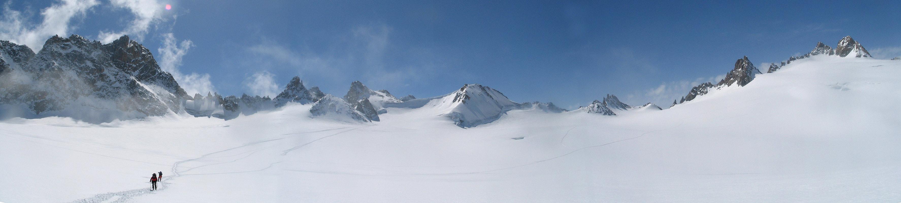 Fenêtre Saleinaz,Day1 H.R. Chamonix-Zermatt Massif Mont Blanc Frankreich panorama 39