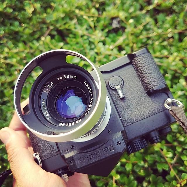 Pentax 58mm f2.4 旭光學的HELIAR