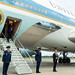 President Trump Returns to the White House
