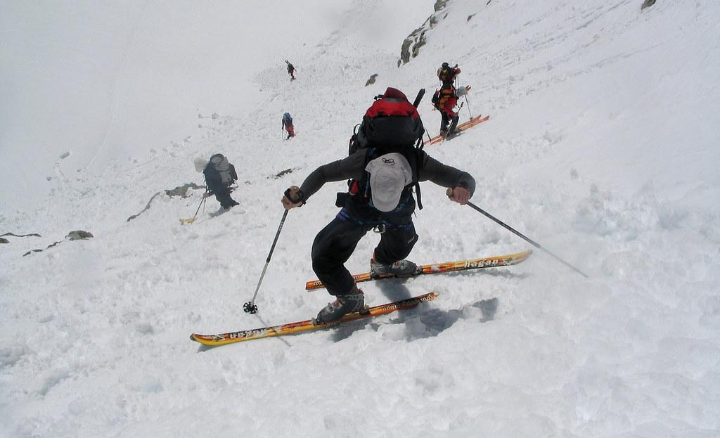 Fenêtre Saleinaz,Day1 H.R. Chamonix-Zermatt Massif Mont Blanc Frankreich foto 30
