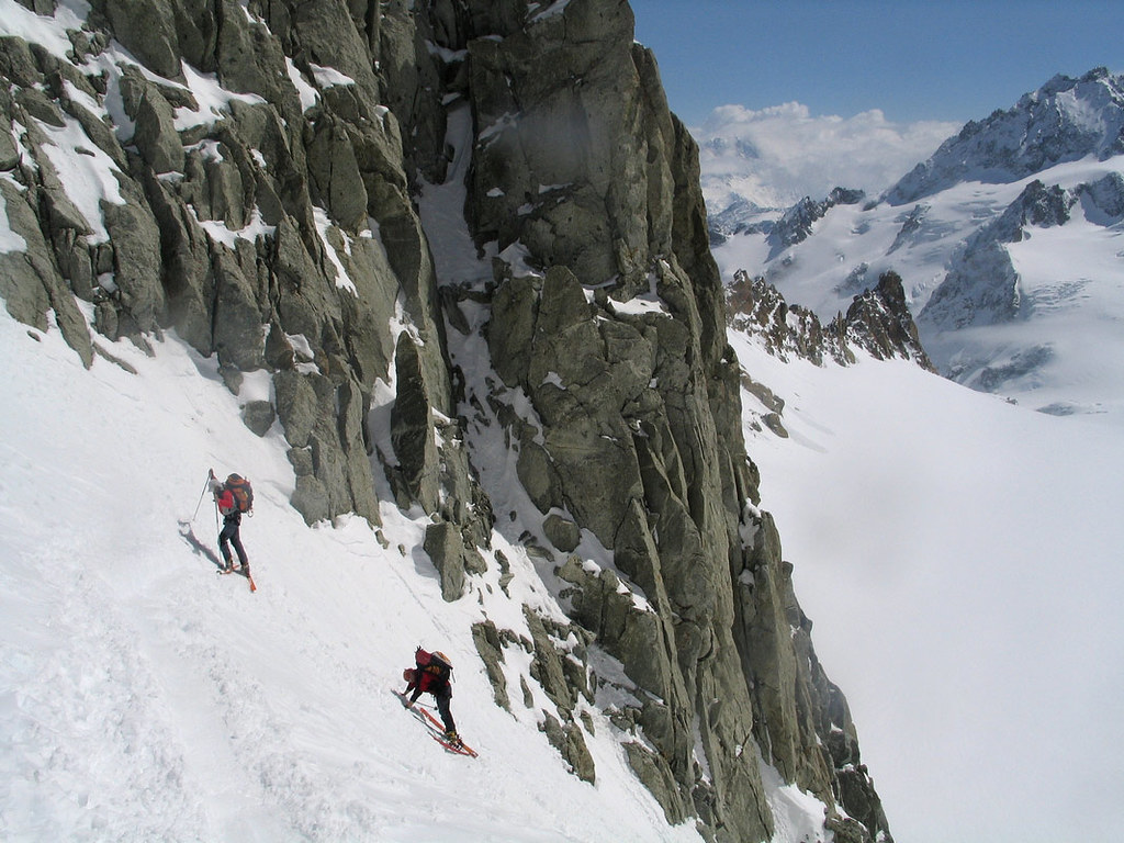 Fenêtre Saleinaz,Day1 H.R. Chamonix-Zermatt Massif Mont Blanc Frankreich foto 31