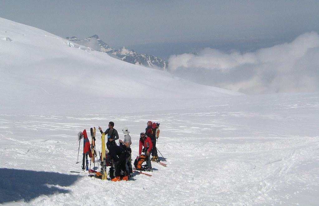 Fenêtre Saleinaz,Day1 H.R. Chamonix-Zermatt Massif Mont Blanc Frankreich foto 33