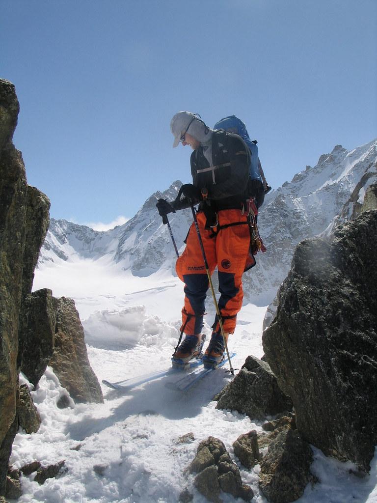 Fenêtre Saleinaz,Day1 H.R. Chamonix-Zermatt Massif Mont Blanc Frankreich foto 32