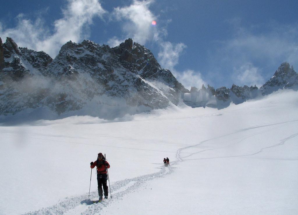 Fenêtre Saleinaz,Day1 H.R. Chamonix-Zermatt Massif Mont Blanc Frankreich foto 34
