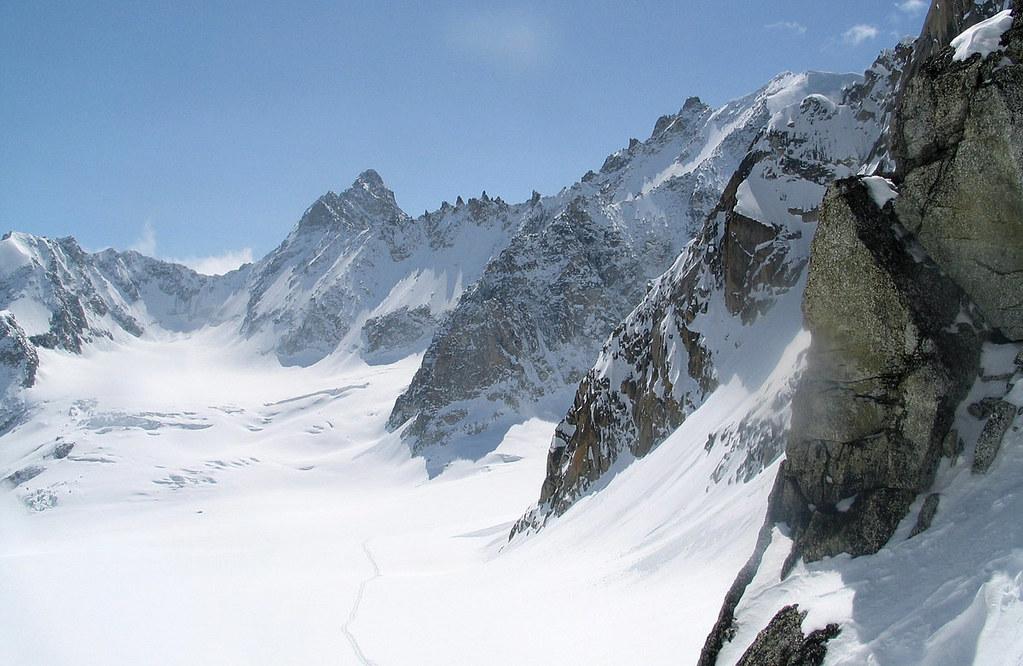 Fenêtre Saleinaz,Day1 H.R. Chamonix-Zermatt Massif Mont Blanc Frankreich foto 27